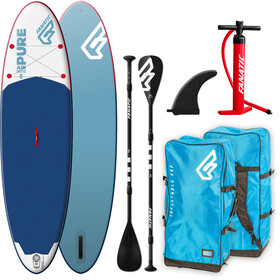 "Fanatic Pure Air Package 10'4"" Inflatable Sup with Paddles and Pump none"